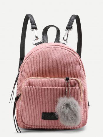 bolsos-maletas maleta de pana rosa 350x466