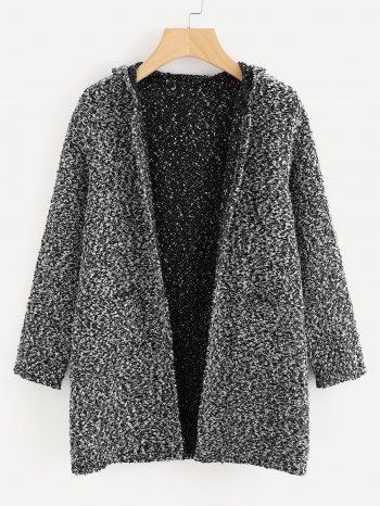 Novedades cardigan gris y negro 350x466