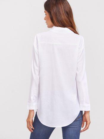 Rebajas Camisa Blanca Sencilla 2 350x466