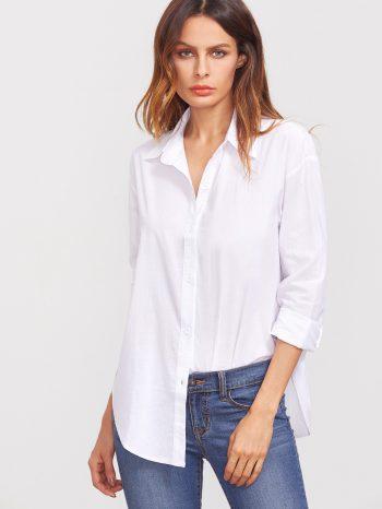 Rebajas Camisa Blanca Sencilla 350x466