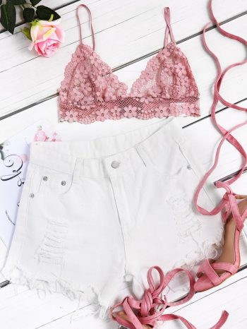 Blusas/Jerséis/Vestidos sujetador rosado 1 350x466