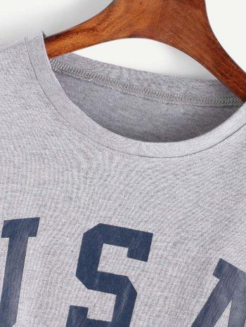 Blusas/Jerséis/Vestidos Camiseta USA de hombre caidos 4 350x466