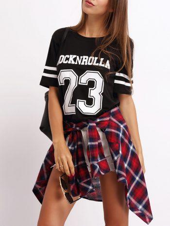 Blusas/Jerséis/Vestidos Camiseta estampada 23 4 350x466