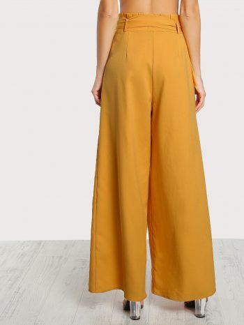 No Sidebar Pantalones con cintur  n Palazzo 3 350x466