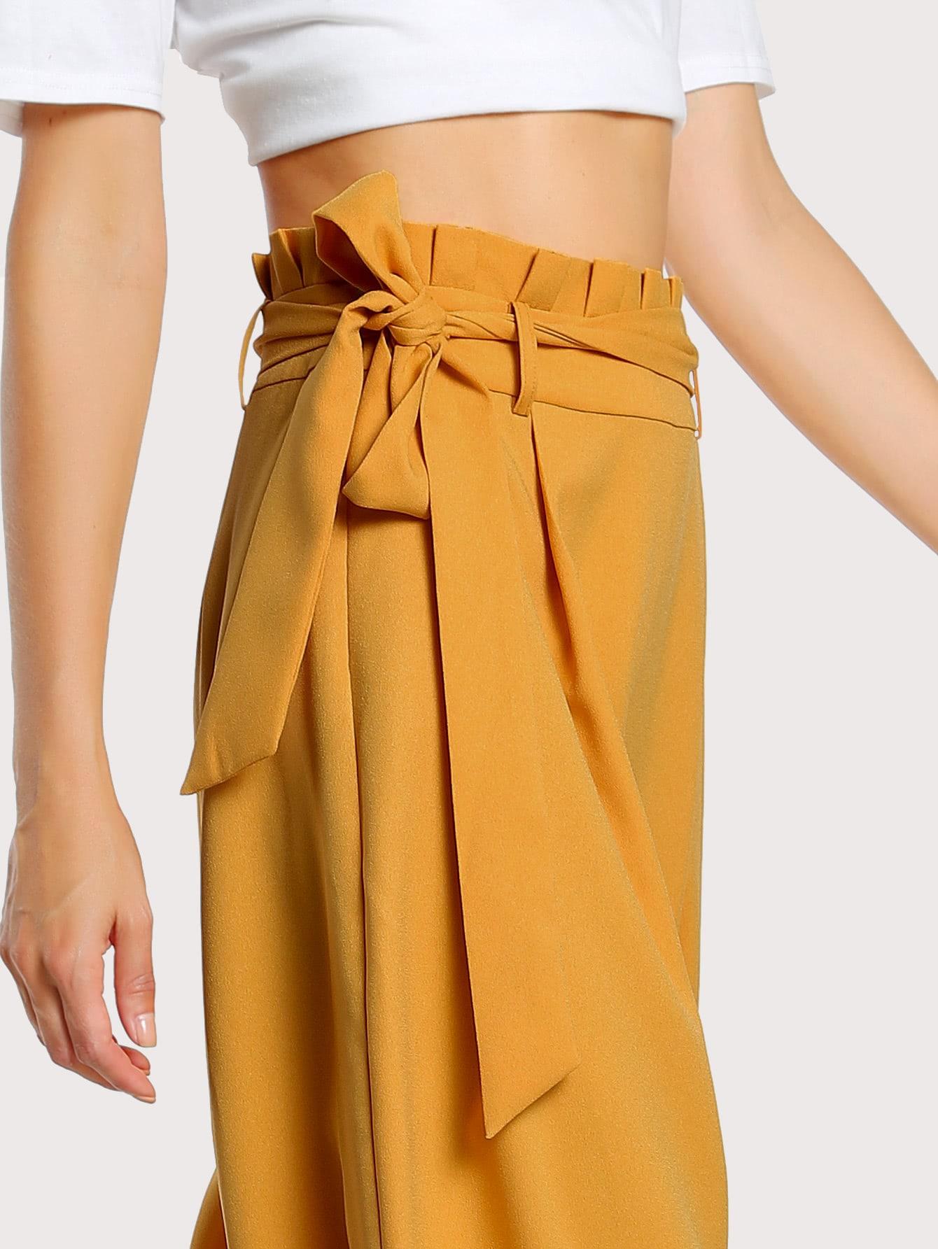 Pantalón bota campaña mostaza - Seven Store