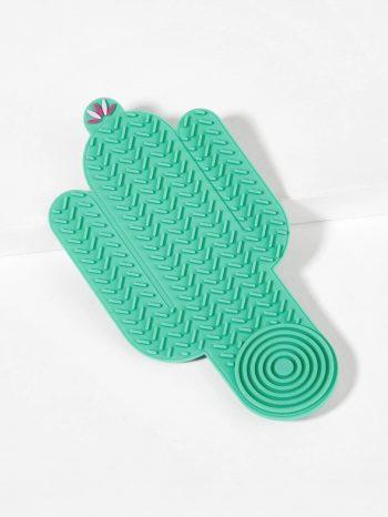 No Sidebar Tapete limpia brochas en forma de cactus 1 350x466