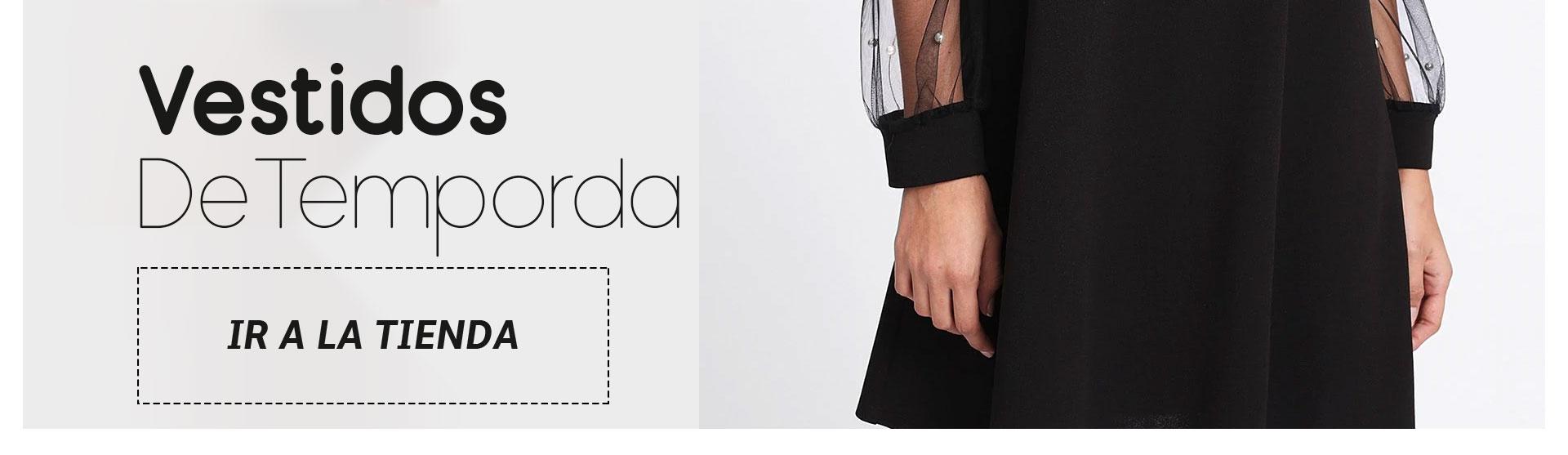 ropa para mujer Inicio banner horizontal Vestidos de temporada 2