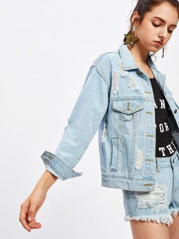 Rebajas chaqueta de jean vaquera 4 350x466
