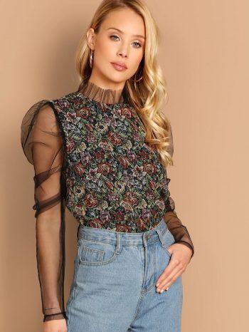 Blusas/Jerséis/Vestidos blusa malla 1 350x466