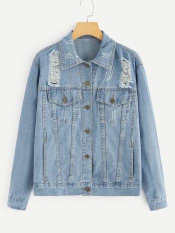 No Sidebar chaqueta jean 350x466
