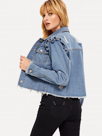 No Sidebar chaqueta jean volantes 3 1 350x466