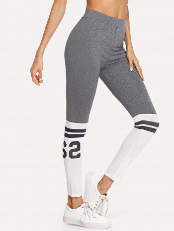 No Sidebar leggins gris con blanco 2 1 350x466