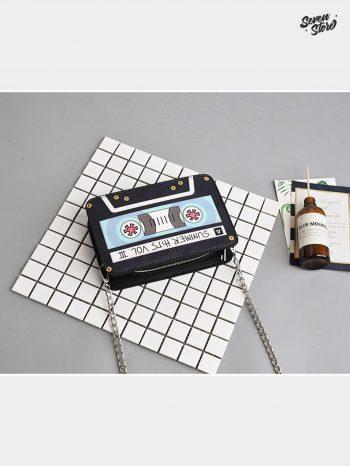 bolsos-maletas Bolso en forma de Casete 1 350x466