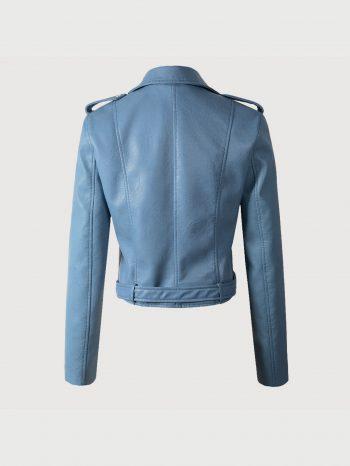 No Sidebar Chaqueta motociclista Azul 2 350x466