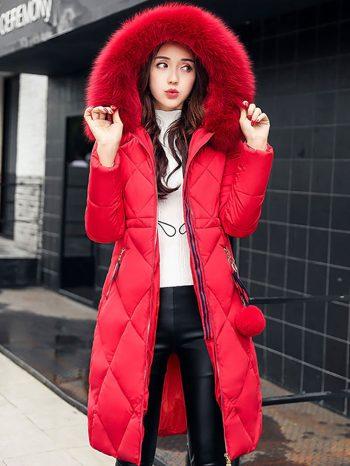 Chaquetas/Abrigos Abrigo de Invierno Rojo 1 350x466