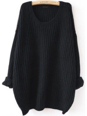 Chaquetas/Abrigos Jersey texturizado con hombros descubiertos negro 350x466