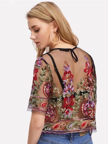 Blusas/Jerséis/Vestidos Blusa de flores Vintage 2 350x467